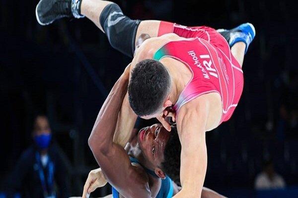 ايران تحصد فضية برونزية في بطولة المصارعة الحرة