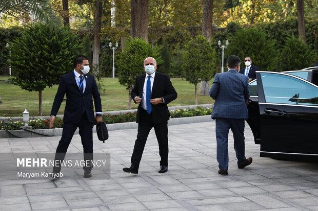 ورود فواد حسین وزیر امور خارجه عراق به نهاد ریاست جمهوری