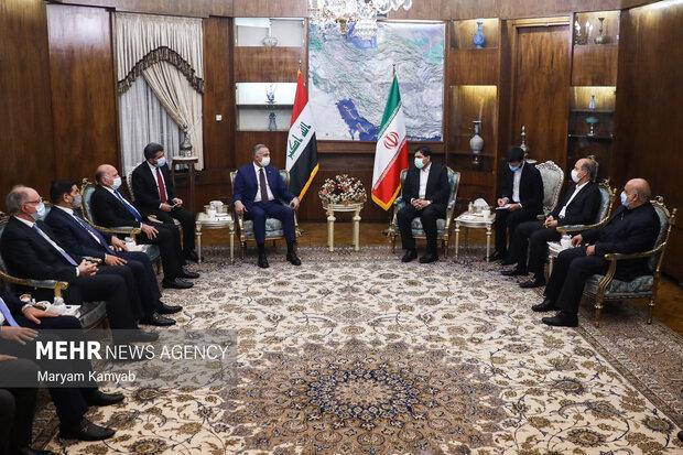 دیدار نخست وزیر عراق با معاون اول رئیس جمهور