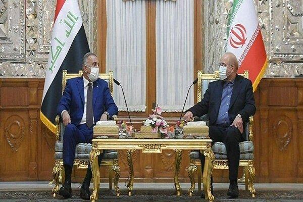 قاليباف: إيران والعراق يعتمدان على قدراتهما لحل القضايا بينهما