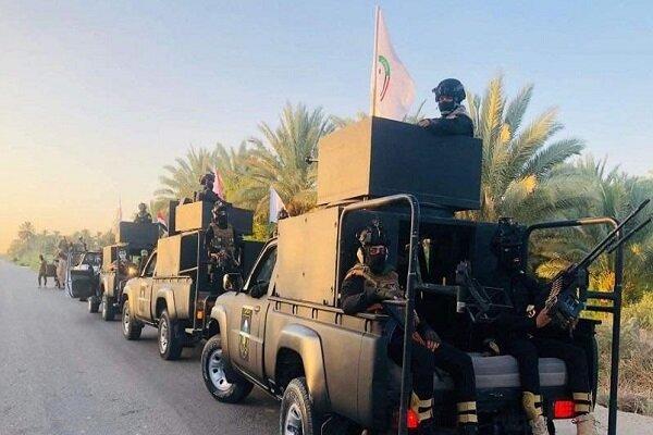عملیات حشد شعبی در جرف النصر در استان بابل عراق