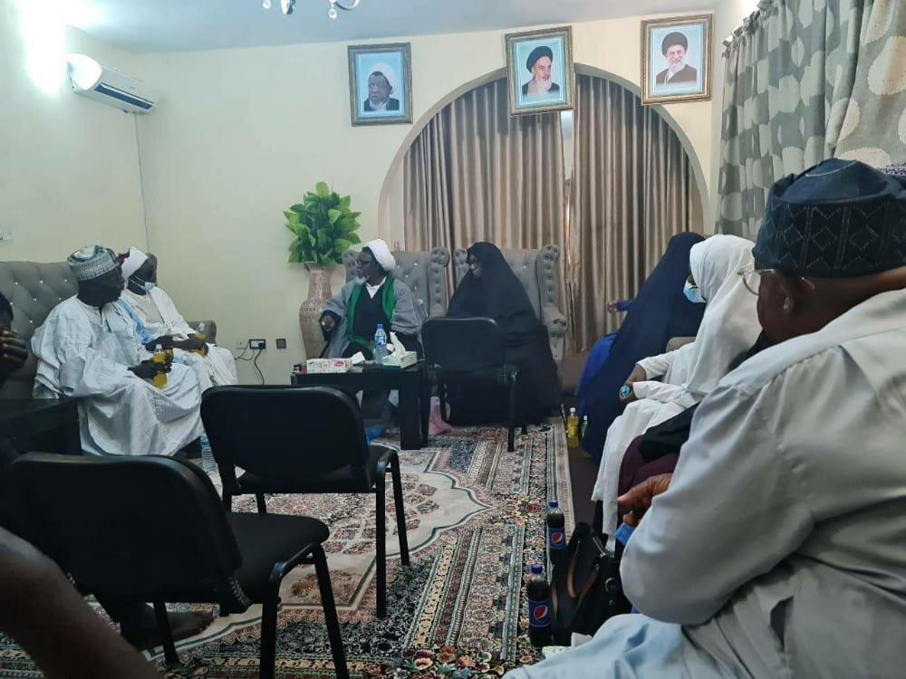 شیخ زکزاکی کی آزادی کے بعد عوام سے پہلی ملاقات+تصاویر