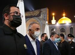 Irak Başbakanı'ndan İmam Rıza (a.s) türbesine ziyaret