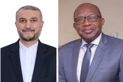 DRC FM Christophe Lutundula congratulates Amir-Abdollahian