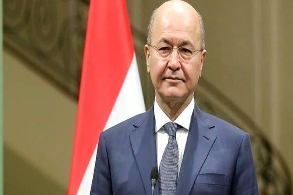 Iraqi pres. rejects any relationbetween Baghdad, Tel Aviv