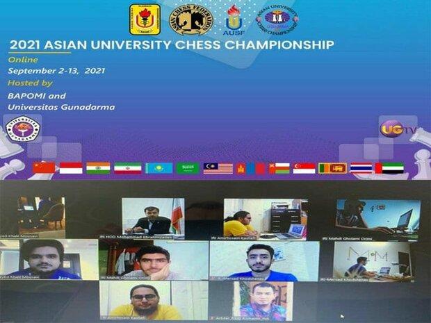 ایران نایب قهرمان مسابقات شطرنج دانشجویان آسیا شد
