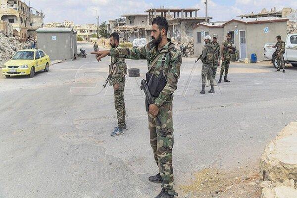 الجيش السوري يدخل بلدة اليادودة بريف درعا الشمالي الغربي