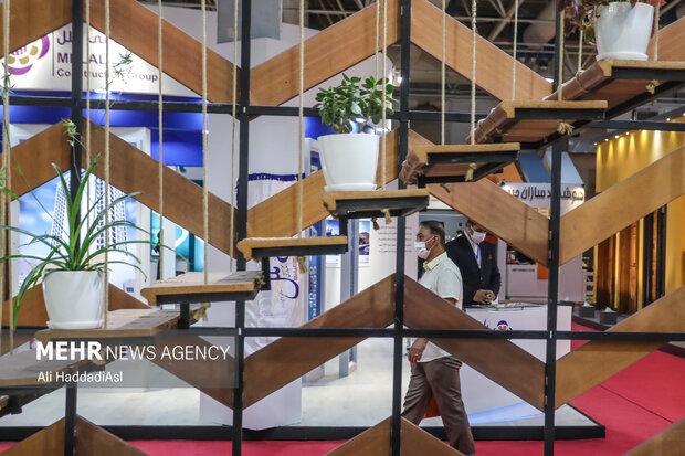 نمایشگاه صنعت ساختمان در محل دائمی نمایشگاه بین المللی تهران در حال برگزاری است