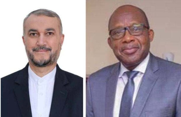 وزير خارجية الكونغو يهنئ امير عبداللهيان