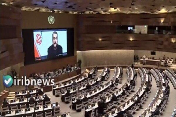 Iran FM stresses Afghan inclusive gov. in UNGA meeting