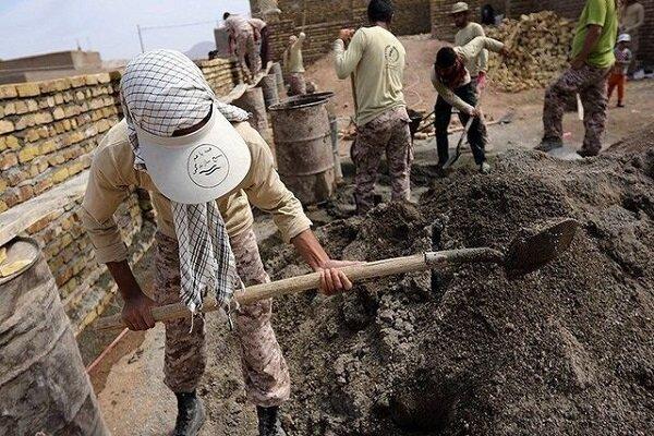 فعالیت ۳۵ گروه جهادی در شهرستان «بن»