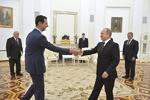 Putin ile Esad, Moskova'da görüştü