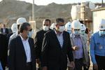 """""""محمد اسلامي"""" يتفقد محطة بوشهر النووية"""