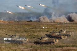 رزمایش مشترک نیروهای نظامی روسیه و بلاروس