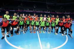 تصاویری از آخرین تمرین تیم ملی فوتسال ایران پیش از بازی با صربستان