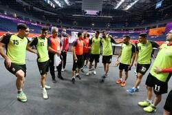 ملی پوش فوتسال انگلیس پیگیر دیدار ایران - صربستان در جام جهانی