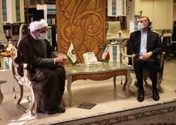 رئیس سازمان فرهنگی هنری شهرداری با وزیر امورخارجه دیدار کرد