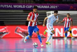 پیروزی پرگل تیم ملی فوتسال اسپانیا مقابل پاراگوئه