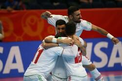 تیم ملی فوتسال ایران جام جهانی را با پیروزی شروع کرد