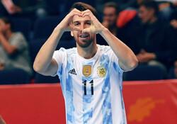 صعود مقتدرانه آرژانتین با حذف پاراگوئه/ آلبی سلسته حریف روسیه شد