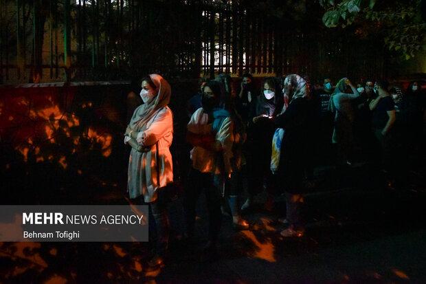 واکسیناسیون شبانه در تهران
