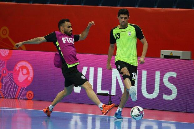 برنامه فیفا علیه تمرین آمادهسازی تیم ملی فوتسال ایران