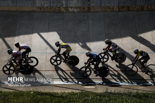 İran Pist Bisikleti Şampiyonası heyecanı
