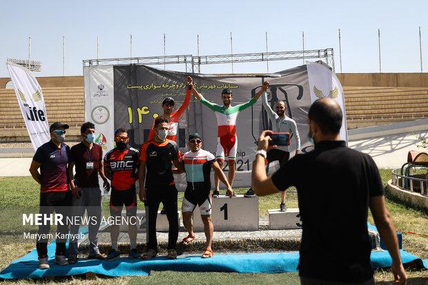 منافسات بطولة الدراجات الهوائية على مستوى البلاد