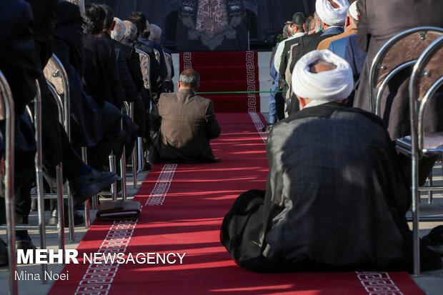 آیین افتتاحیه هجدهمین اجلاس بینالمللی تجلیل از پیرغلامان و خادمان حسینی