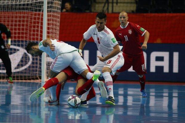 فشار بازی با صربستان بالا بود/ اخراج احمدی برنامهها را بهم ریخت