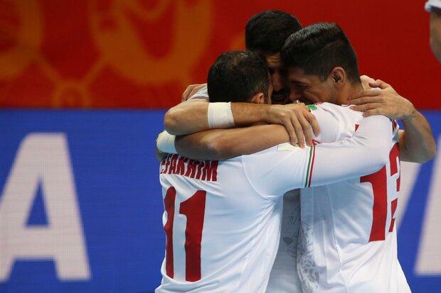 پاداش ویژه برای برد فوتسالیست های ایران در جام جهانی