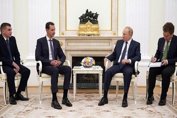 بوتين يلتقي الأسد في الكرملين/ الشعب السوري يثق بك