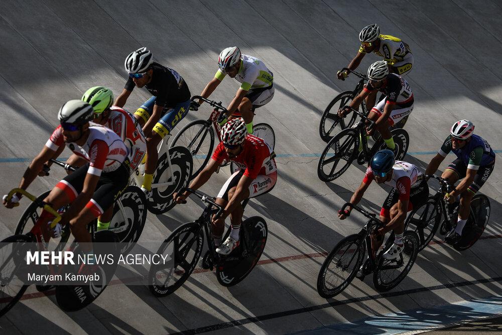 Tahran'da İran Pist Bisikleti Şampiyonası heyecanı