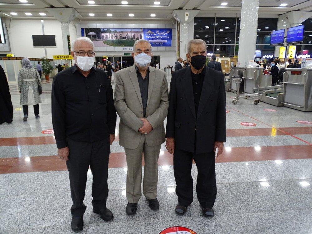 اعزام 3 پیرغلام فارس به همایش بین المللی پیرغلامان حسینی تبریز