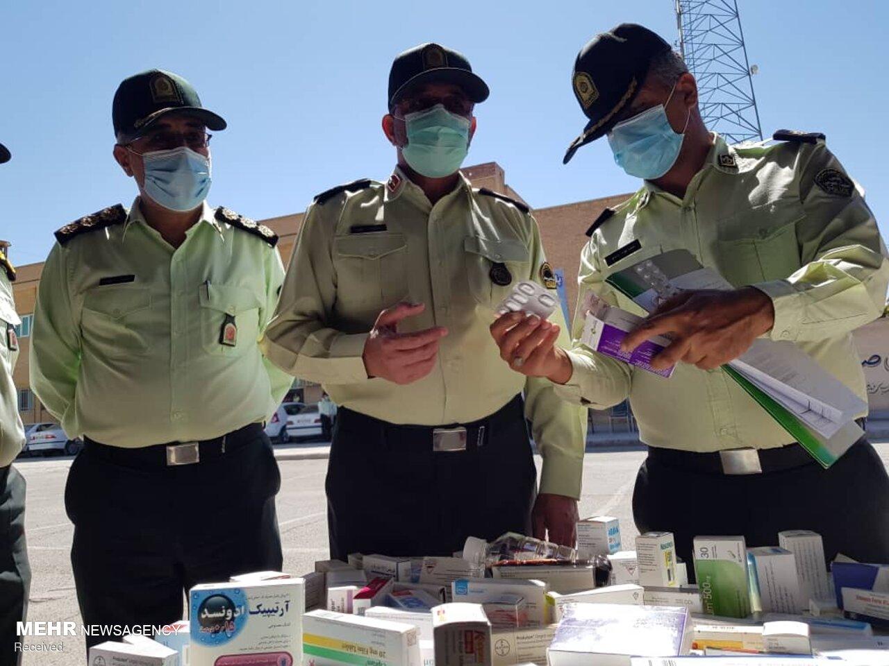 انهدام باند احتکار و توزیع داروی قاچاق در کرمان