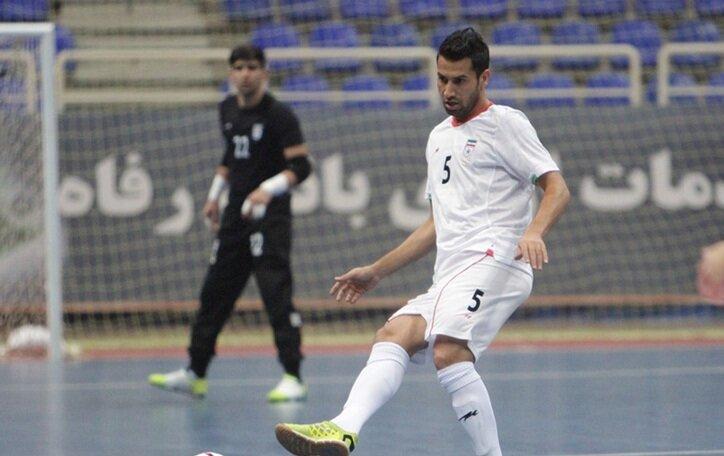 اخراج بازیکن تیم ملی فوتسال ایران در نخستین بازی جام جهانی!