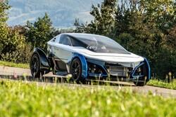 تولید خودروی پیل سوختی که فقط ۴۵۰ کیلوگرم وزن دارد