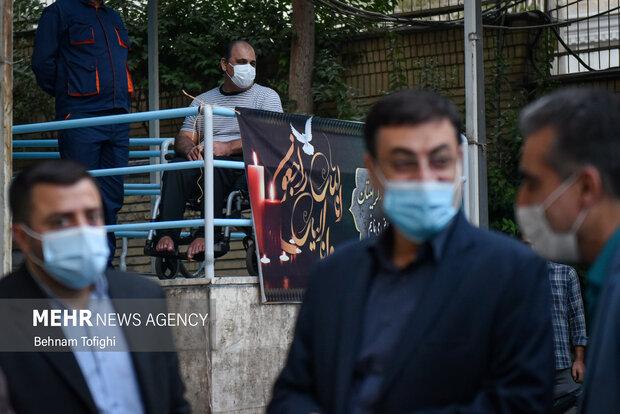دیدار رئیس بنیاد شهید با جانبازان مرکز ثارالله 2