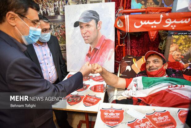 دیدار رئیس بنیاد شهید با جانبازان مرکز ثارالله 14