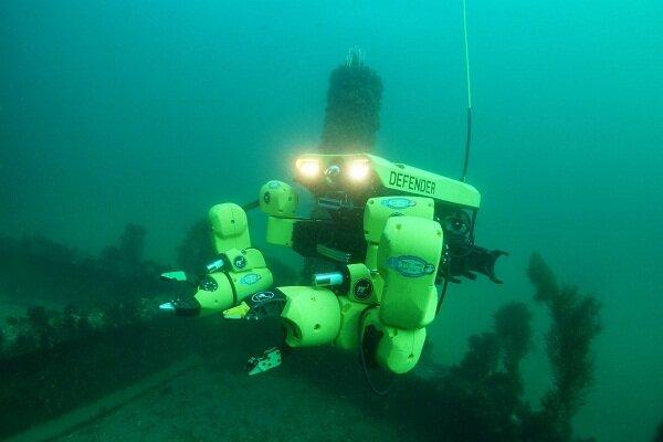 تولید بازوی رباتیک خودران برای خنثی کردن مین های دریایی