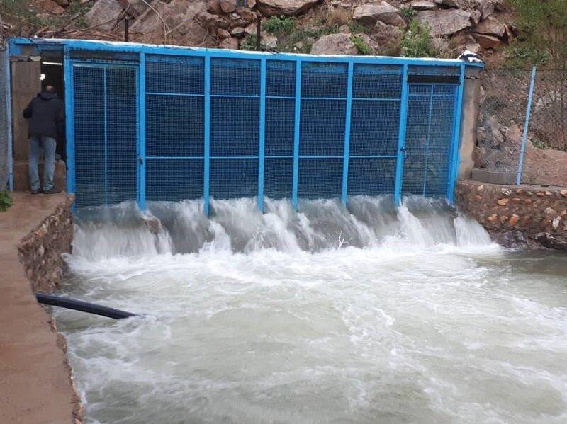 آبدهی چشمه لنگان ۹۸ درصد کاهش یافت