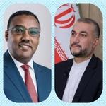 ایتھوپیا کے وزیر خارجہ کی امیر عبداللہیان کو مبارکباد