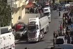 قافلة خامسة من المازوت الايراني تتجه الى لبنان