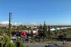 قافلة صهاريج كسر الحصار الأمريكي تدخل الأراضي اللبنانية