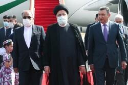 Reisi, ilk yurt dışı gezisi için Tacikistan'a geldi