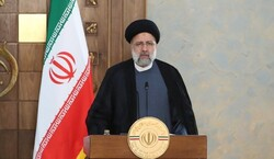 الرئيس الايراني يلتقي قادة الدول الاعضاء بقمة شنغهاي