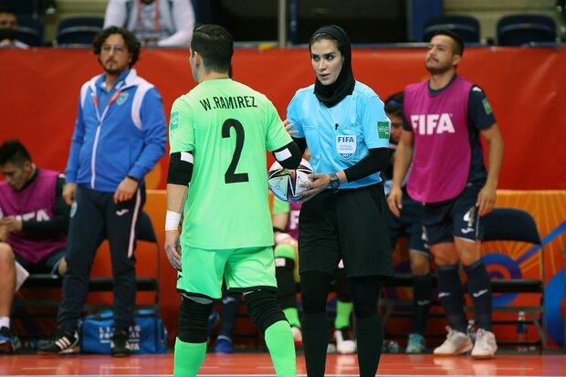 اشتباه بزرگ داور استرالیایی علیه فوتسال ایران در جام جهانی