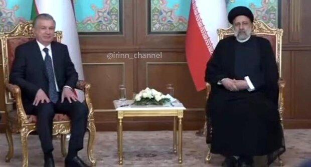 Uzbek, Belarus presidents ,Pakistani PM meet Raeisi