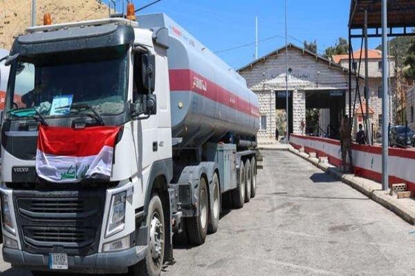 اولین محموله سوخت عراق وارد لبنان شد