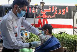 ۵۰۰۰ نفر در طرح واکسیناسیون سیار در مشهد واکسینه شدند